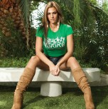 Green Female Perfect Party Tee