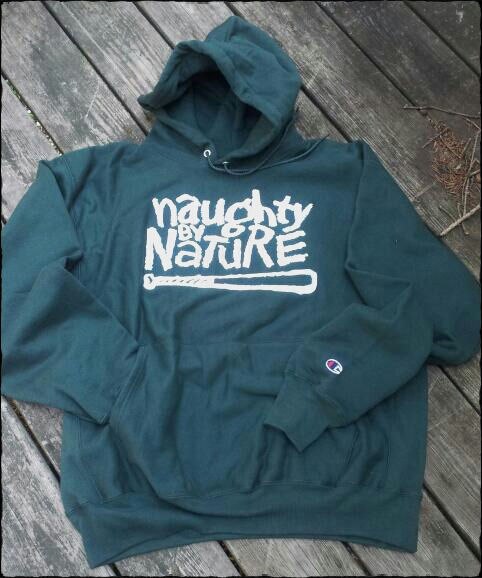 Green Champion Brand Embroidered Hoodie