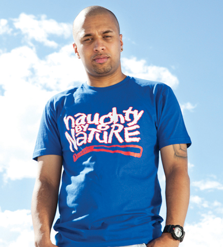 Naughty Blue Perfect Party Tee
