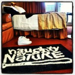 Classic Naughty By Nature Cruise Cabin Rug